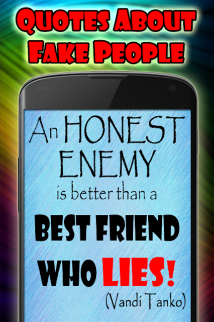 Quotes about fake people screenshot 4