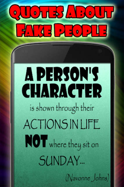 Quotes about fake people screenshot 7