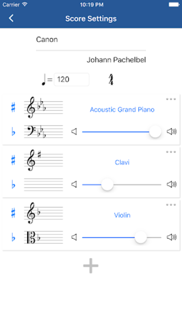 Notation Pad - Sheet Music Score Composer screenshot 4