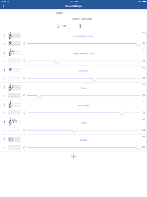 Notation Pad - Sheet Music Score Composer screenshot 8