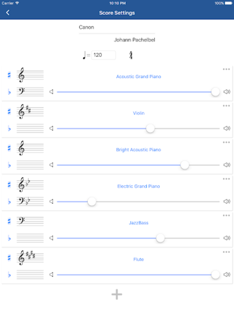Notation Pad - Sheet Music Score Composer screenshot 12