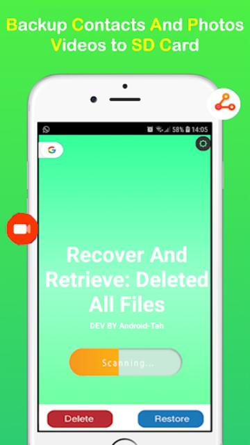 Recover & Retrieve: All Files Photos-Contacts screenshot 2