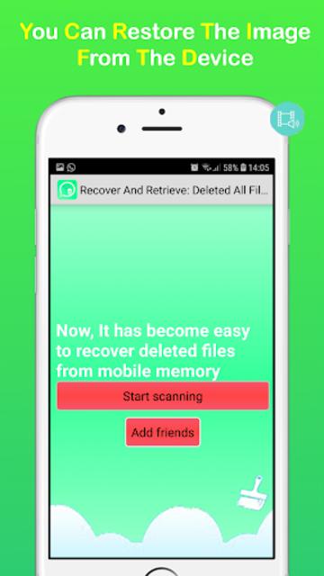 Recover & Retrieve: All Files Photos-Contacts screenshot 3