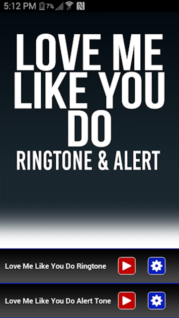 Love Me Like You Do Ringtone screenshot 1