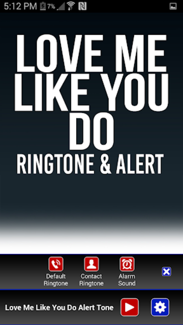 Love Me Like You Do Ringtone screenshot 2