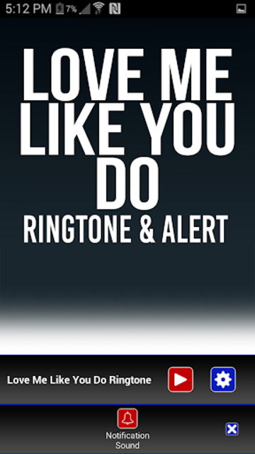 Love Me Like You Do Ringtone screenshot 3