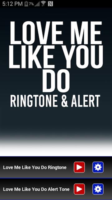 Love Me Like You Do Ringtone screenshot 1