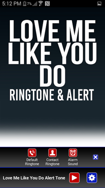 Love Me Like You Do Ringtone screenshot 2