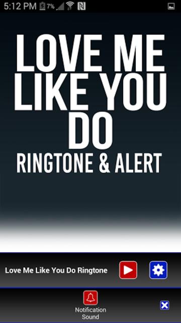 Love Me Like You Do Ringtone screenshot 3