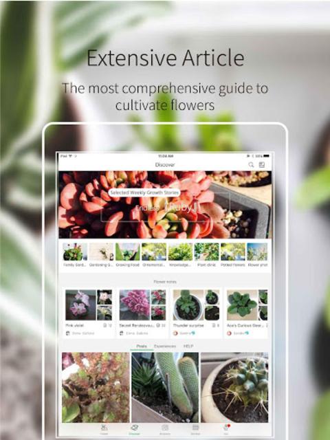 Green Fingers - the best gardening manage app screenshot 6