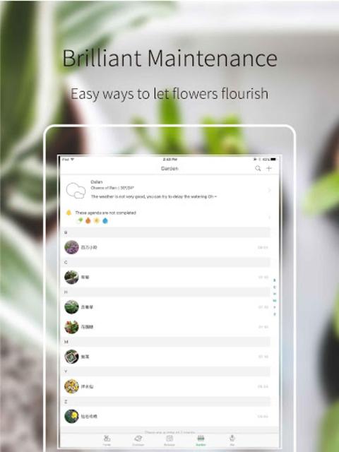 Green Fingers - the best gardening manage app screenshot 13
