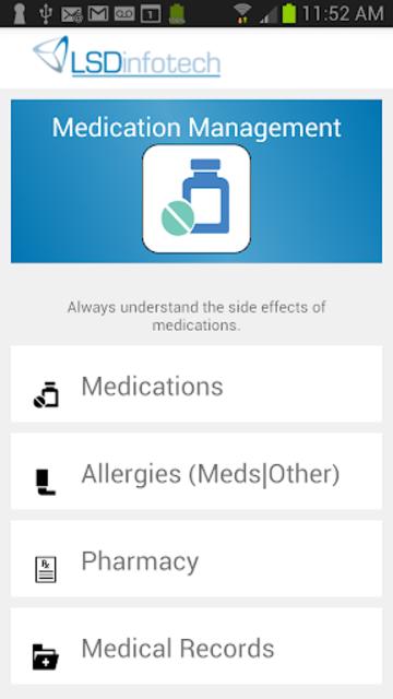 Medication List & Medical Records screenshot 1