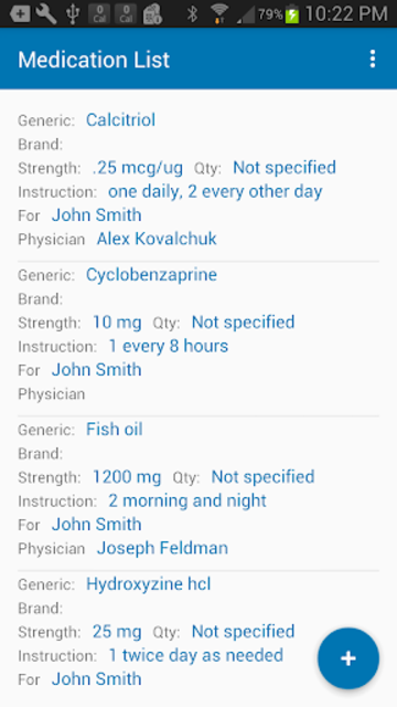 Medication List & Medical Records screenshot 3