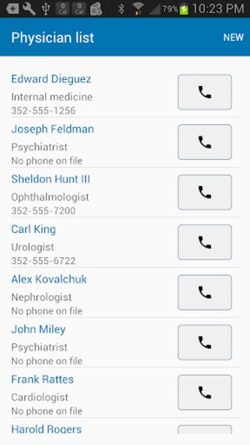 Medication List & Medical Records screenshot 5