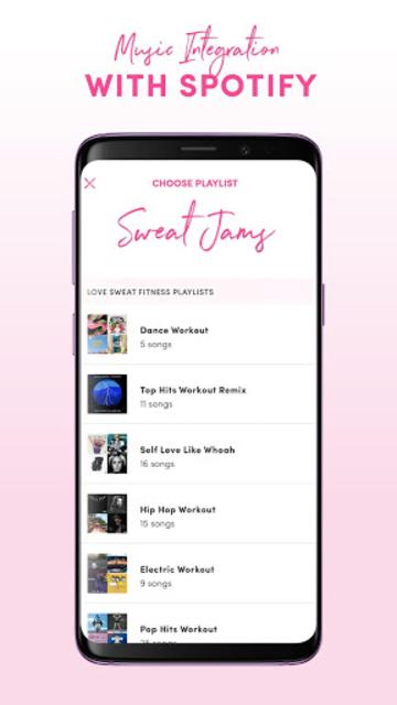 Love Sweat Fitness : Workout,Exercise & Motivation screenshot 8