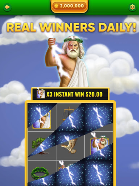 Lucky Scratch WIN REAL MONEY- it's your LUCKY DAY screenshot 9