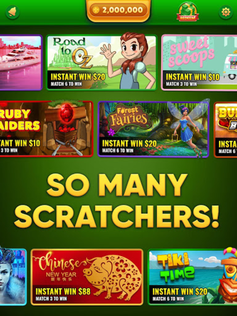 Lucky Scratch WIN REAL MONEY- it's your LUCKY DAY screenshot 10