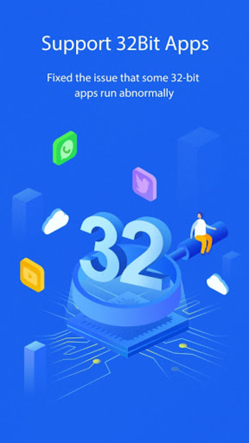 DualSpace Blue - 32Bit Support screenshot 1