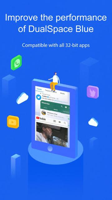 DualSpace Blue - 32Bit Support screenshot 2