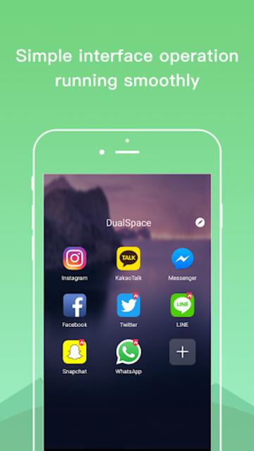 Dual Space Lite - Multiple Accounts & Clone App screenshot 1