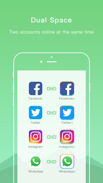 Dual Space Lite - Multiple Accounts & Clone App screenshot 2