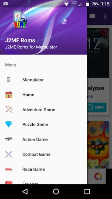 J2ME Roms screenshot 1