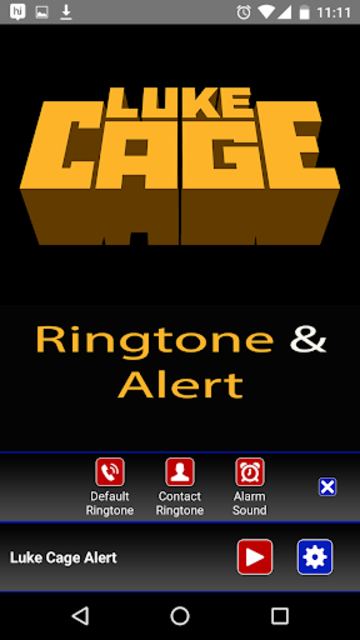 Luke Cage Ringtone and Alert screenshot 3