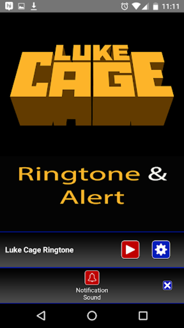 Luke Cage Ringtone and Alert screenshot 4