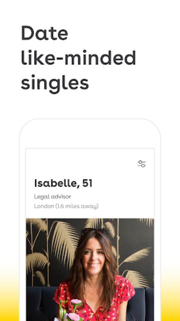 Lumen - Over 50 Dating screenshot 1