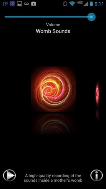 Womb Sounds-Baby Sound Machine screenshot 1