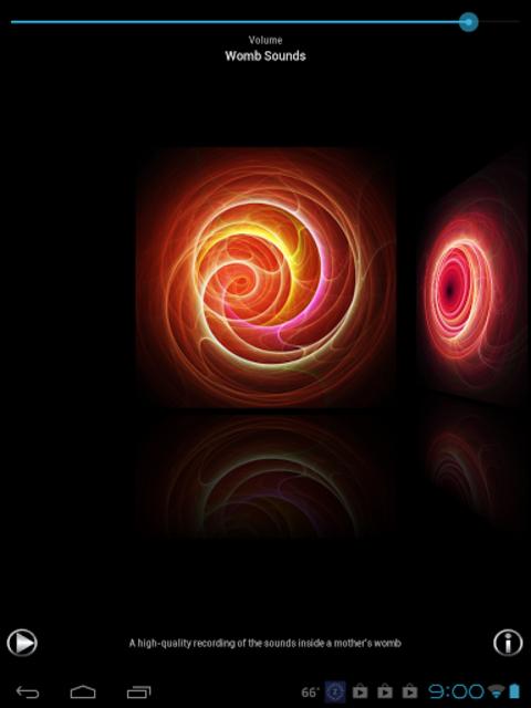 Womb Sounds-Baby Sound Machine screenshot 4