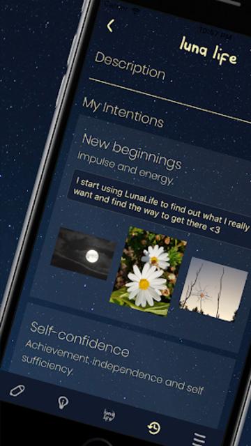 LunaLife App screenshot 3