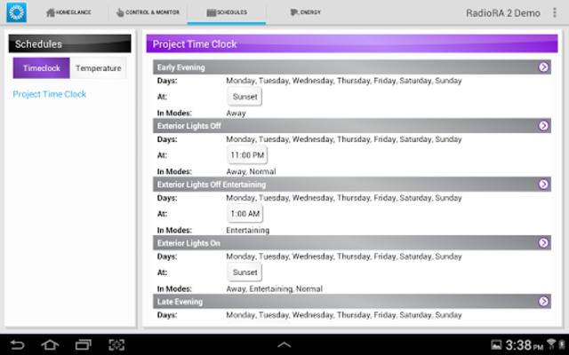 Lutron Home Control+ LEGACY screenshot 9