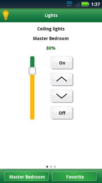 Lutron Home Control+ LEGACY screenshot 2