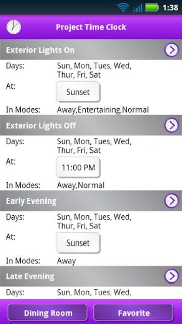 Lutron Home Control+ LEGACY screenshot 5