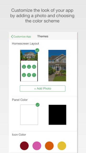 Lutron Caséta & RA2 Select app screenshot 5
