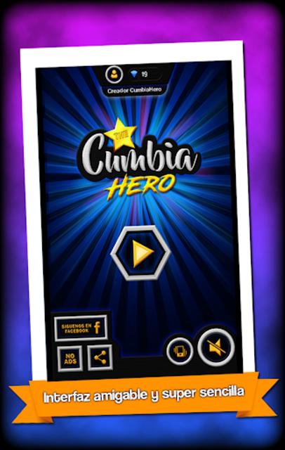 The Cumbia Hero Premium No Ads screenshot 1