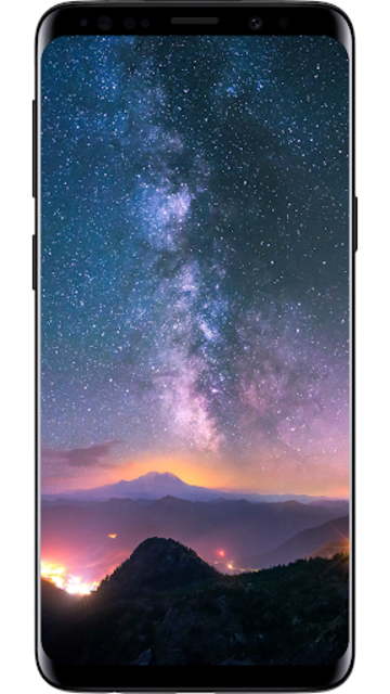Galaxy S10 Wallpapers, 4k Amoled - Darknex Pro💎 screenshot 1