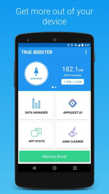 True Booster (Clean & Boost) screenshot 2