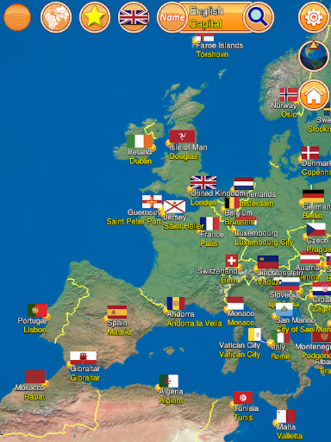 Globe Earth 3D: Flags, Anthems and Timezones screenshot 11