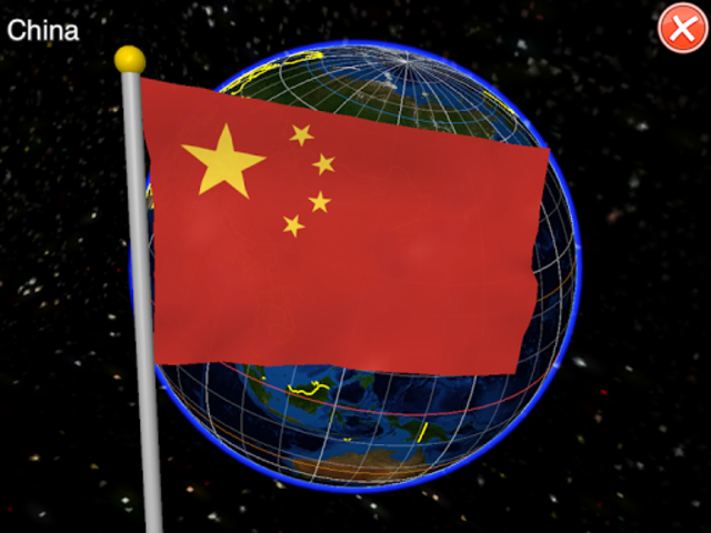 Globe Earth 3D: Flags, Anthems and Timezones screenshot 8