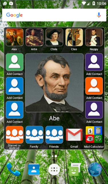 Mad Contacts Widget screenshot 1