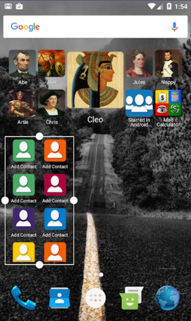 Mad Contacts Widget screenshot 3
