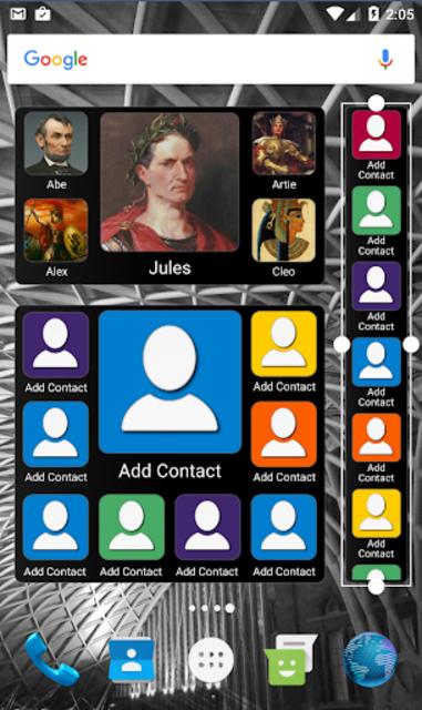 Mad Contacts Widget screenshot 4