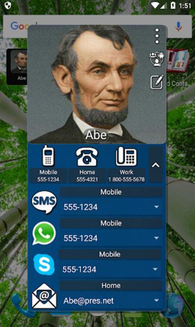 Mad Contacts Widget screenshot 6