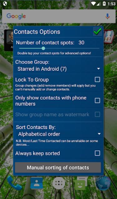 Mad Contacts Widget screenshot 7