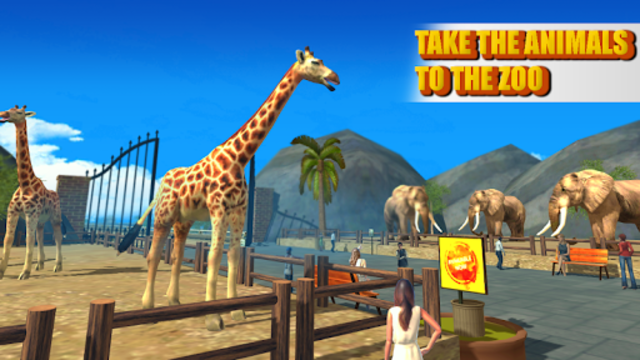 Zoo Animal Transport Truck screenshot 6