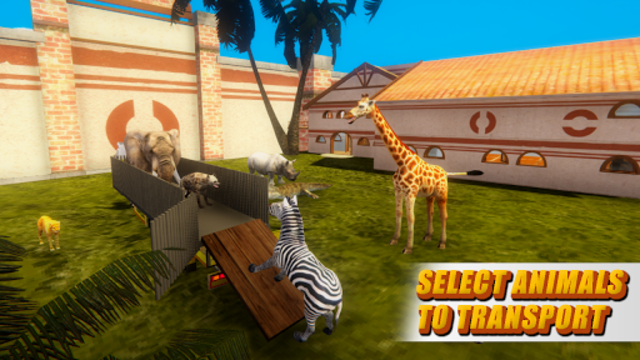 Zoo Animal Transport Truck screenshot 12