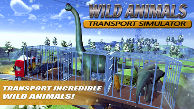 Wild Animals Transport Truck Simulator screenshot 1