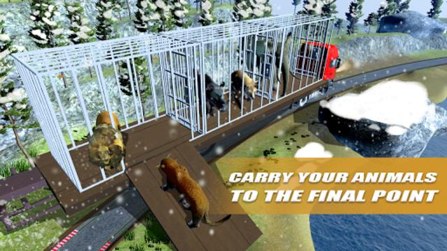 Wild Animals Transport Truck Simulator screenshot 8